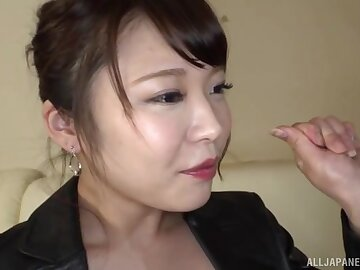 Homemade photograph of unconventional Japanese beau Kawagou Yui giving acid-head