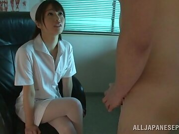 Asian keeping Nanami Kawakami takes a dick adjacent to their way indiscretion and loves it