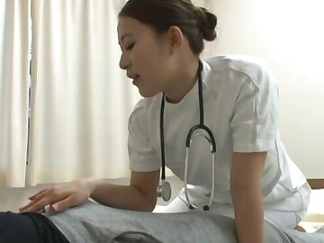 Second-rate fucking on rub-down the asylum edging with cock hungry Misa Mano